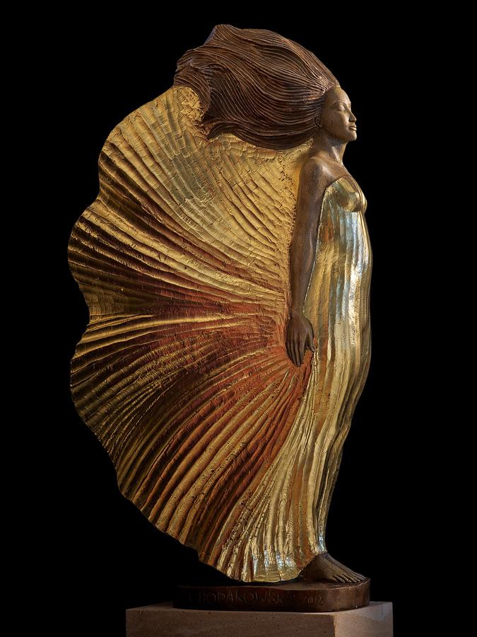 Malgorzata Chodakowska |Bronze Sculpture